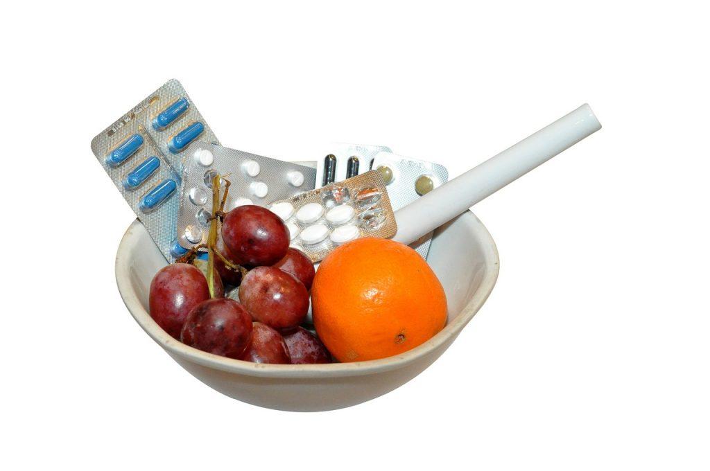 ビタミンを一気に摂れるサプリメント