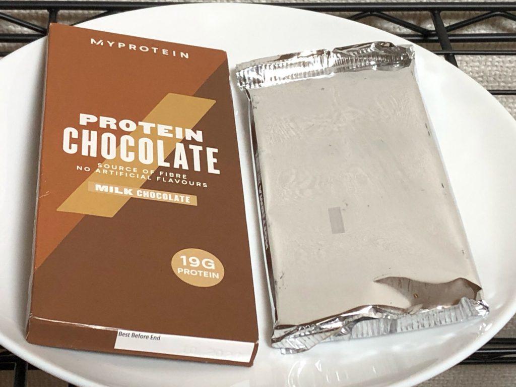 PROTEIN MILK CHOCOLATE(包装板)