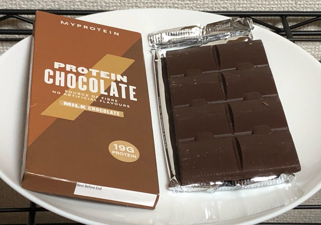 PROTEIN MILK CHOCOLATE(板)