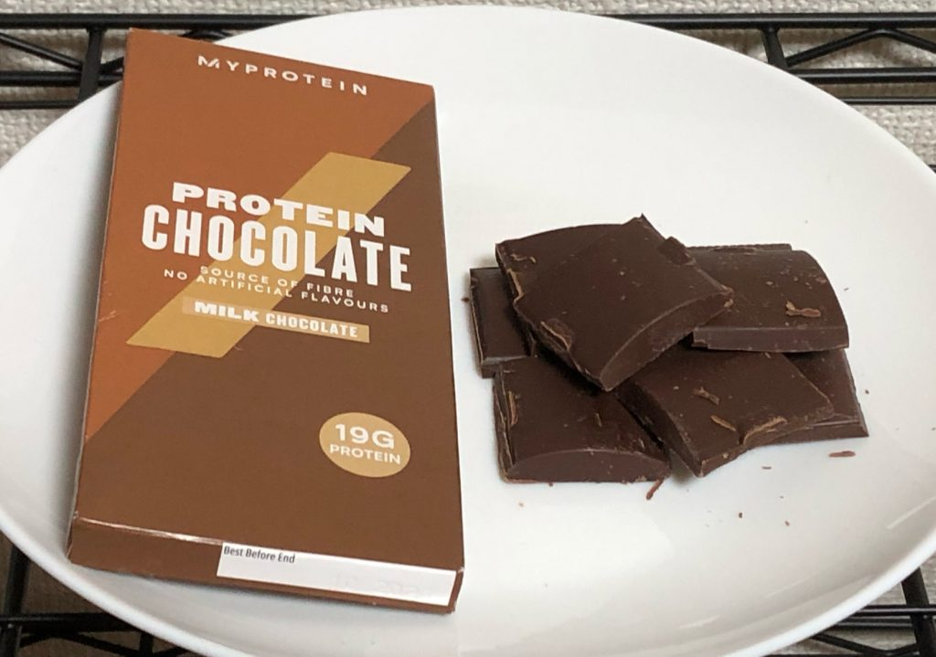 PROTEIN MILK CHOCOLATE(割)